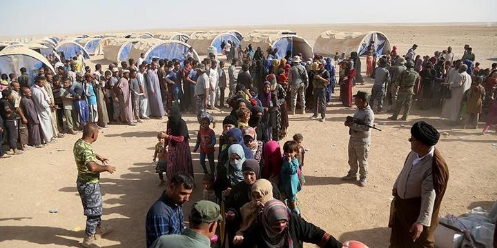 BM: Musul Operasyonu 7 Bin Kişiyi Yerinden Etti