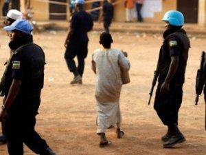 Orta Afrika Cumhuriyeti'nde BM Misyonu Protesto Edildi