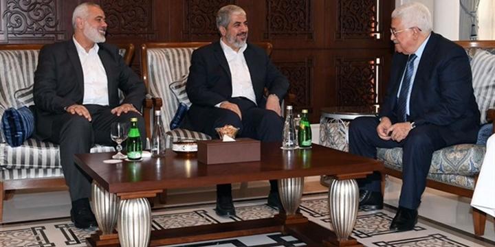 Abbas, Meşal ve Heniyye Katar'da Görüştü