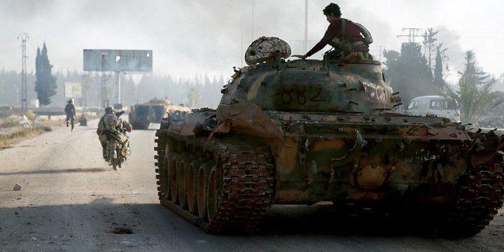 Fetih Ordusu Halep'in 3000 Konut Mahallesi'ne Girdi