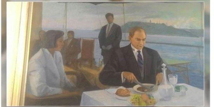 İçki İçmeyi Teşvik Eden Atatürk Fotoğrafıysa Orada Duracaksın!