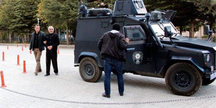 DBP Elazığ İl Başkanı Nafiz Koç Gözaltına Alındı