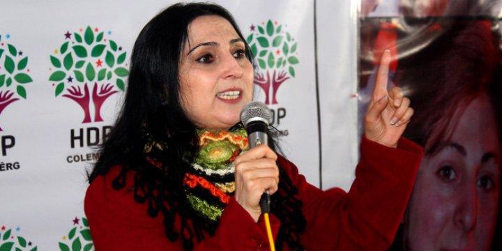 """HDP'li Figen Yüksekdağ """"Halkların Kardeşliği"""" İçin Taziyede Bulunmuş!"""