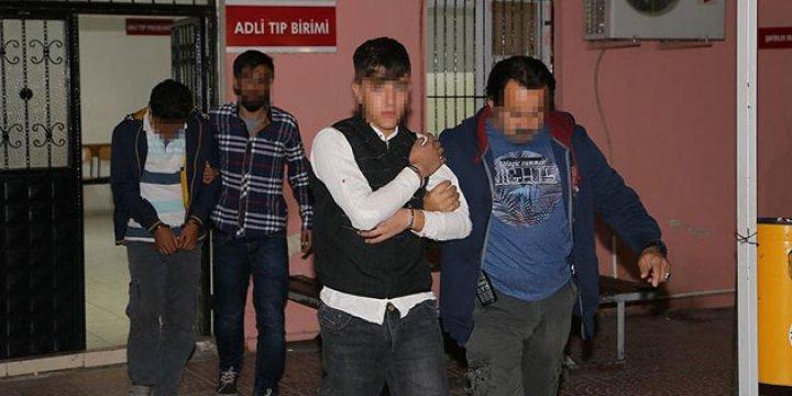 PKK Kundakçıları Suç Üstü Yakalandı