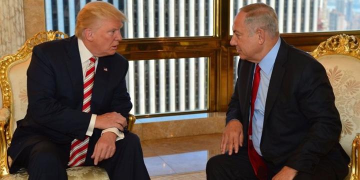 "İşgalci Netanyahu'dan Trump'a ""Duvar"" Desteği!"