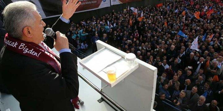 Binali Yıldırım, Başkanlık Sistemi ve Yeni Anayasa'yı MHP ile Getirecekmiş