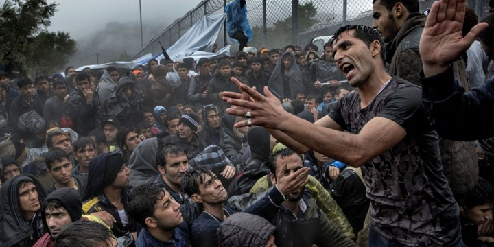 Avustralya Meclisi'nde Mültecilere Destek Eylemi