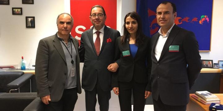 Firari HDP'liler Avrupa Parlamentosu'nda!