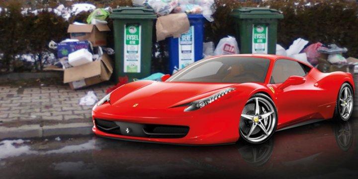 1 Yılda Çöpten Çıkanlar 80 Ferrari Değerinde