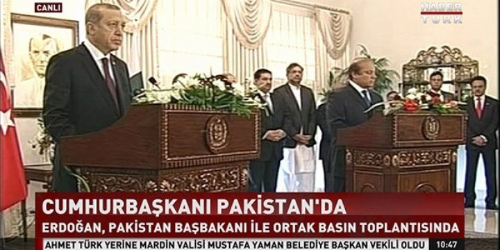 Cumhurbaşkanı Erdoğan, Pakistan'da Pakistan Medyasını Eleştirdi