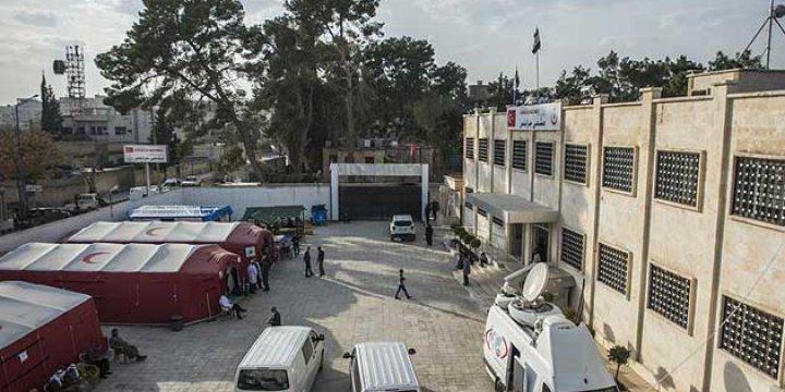 Cerablus'taki Hastane Ameliyatlara Hazırlanıyor