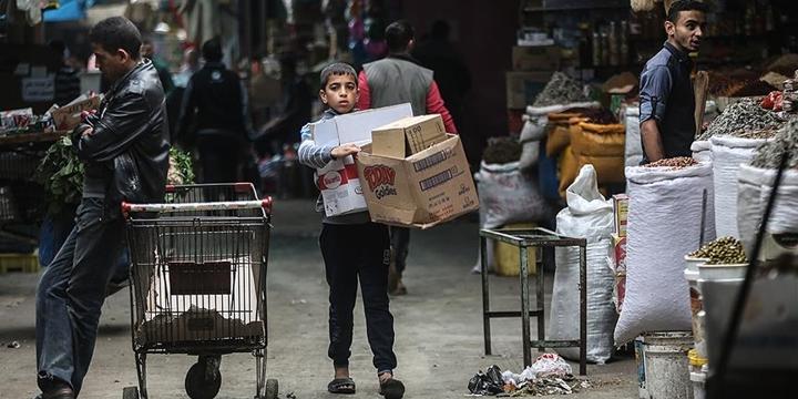 Gazze'de Fakirlik Oranı Yüzde 65'e Yükseldi!