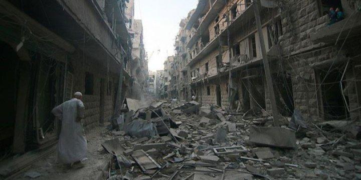 Rusya ve İran Halep'i Gazze'den Beter Ediyor!