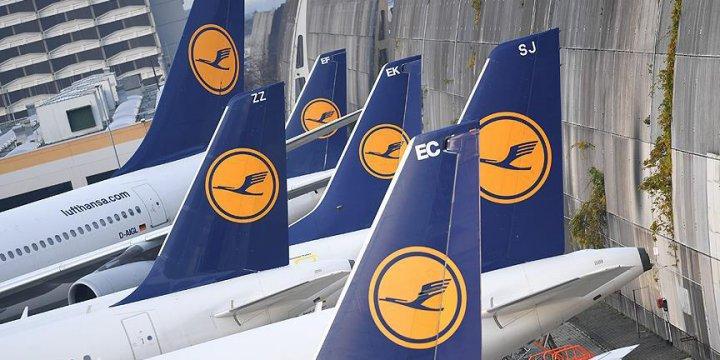 Lufthansa Havayolları Yazılım Sorunu Nedeniyle 46 Uçuşu İptal Etti