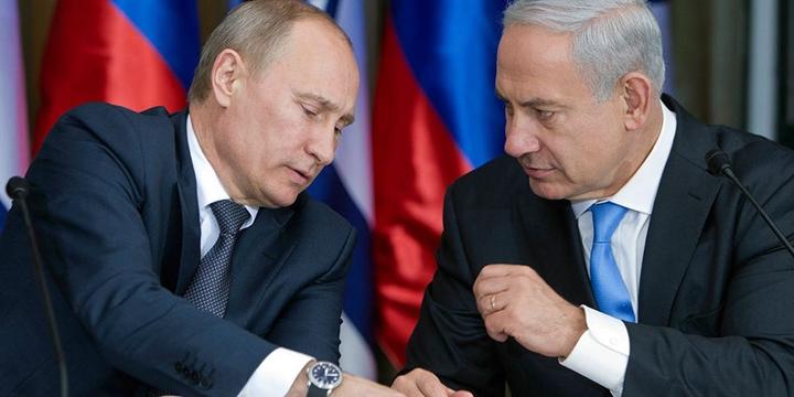 Netenyahu, Putin'den Yardım İstedi
