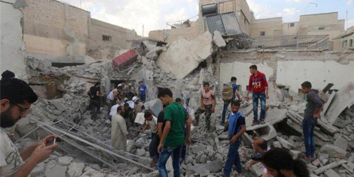 Halep'teki Kuşatma ve Katliamlar Almanya'da Protesto Edildi