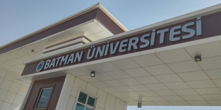 Batman Üniversitesinde FETÖ Operasyonu