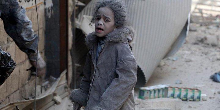 """""""Halep'teki Çocukları, Yaşlıları Kurtarın"""""""