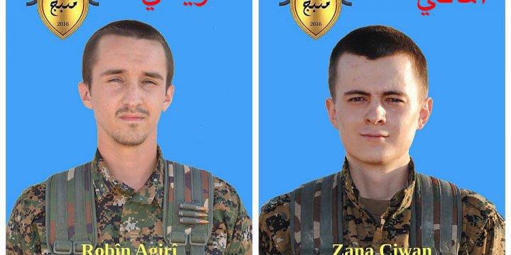 TSK, YPG'nin 'Yabancı Savaşçı'larını Öldürdü!
