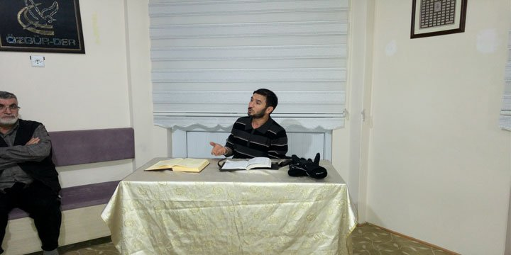"Sivas Özgür-Der'de Bu Hafta ""Cihad"" Konusu İşlendi"
