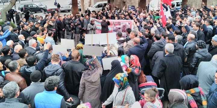 Halep'teki Zulümler Kahramanmaraş'ta Lanetlendi!