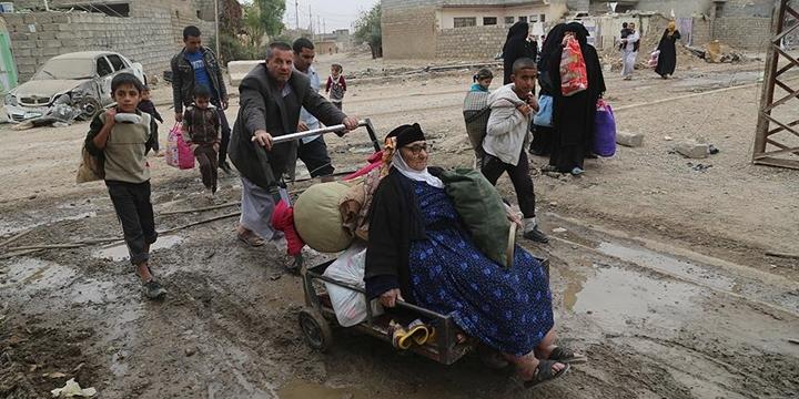 """""""Musul'dan Göç Edenlerin Sayısı 85 Bini Aştı"""""""