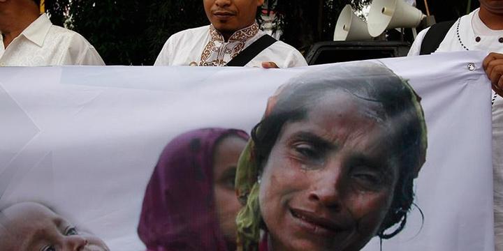 Arakan'daki Zulümler Malezya'da Protesto Edildi