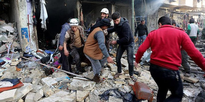 Katiller Bugün de İdlib ve Halep'te 68 Can Aldı