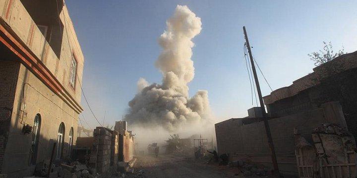Irak'ta Savaş Uçakları Sivilleri Bombaladı: 100 Ölü