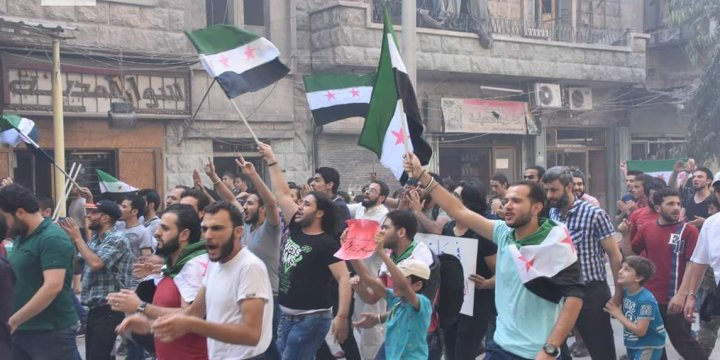 Halep'te Kuşatılan Siviller 'Rejim Gelip Bizi Muhaliflerden Kurtarsın' mı Diyor?