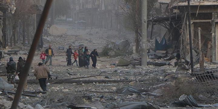 Halep'te 24 Günde 960 Kişi Katledildi!