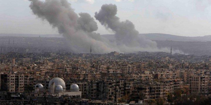 Halep'teki Katliama Lokum Dağıtmak
