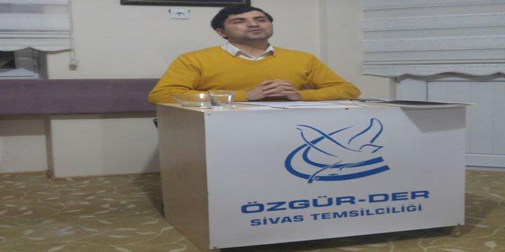 """Sivas Özgür-Der'de """"Halep Kıyamı ve Hendek Siyaseti"""" Değerlendirildi"""