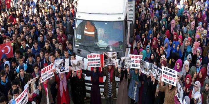 Lise Öğrencileri Halepli Kardeşlerini Unutmadılar
