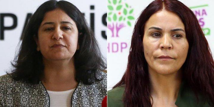 HDP'li Vekiller Çağlar Demirel ve Besime Konca Gözaltına Alındı