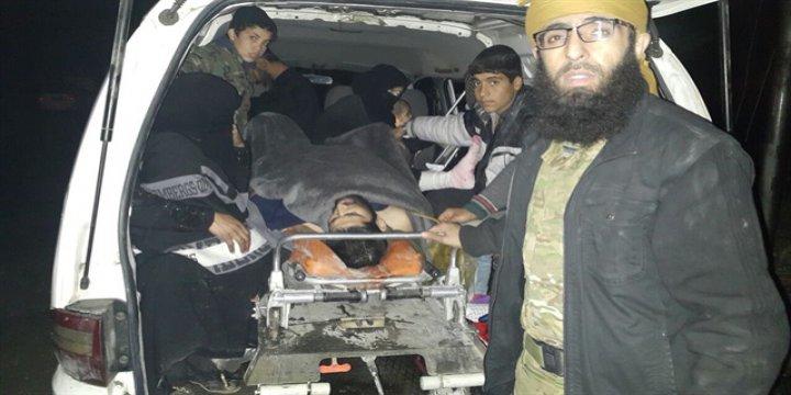 Halep'te Ağır Yaralıların Tahliyesi Başladı
