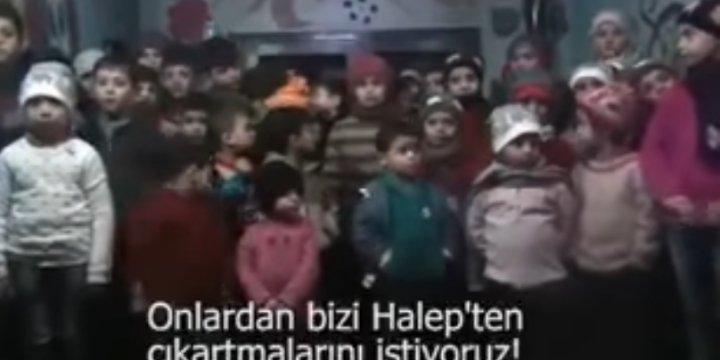 Halep'in Yetimleri: Bizi Kurtarın!