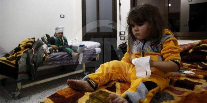 Çocuklar Halep'ten Zulümlerin İzleriyle Geldiler