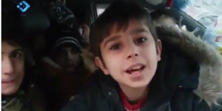 Halepli Çocuklar: Halep'i Özgürleştirmek İçin Geri Döneceğiz!