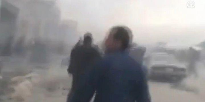Halep'ten Çıkan Konvoya Ateş Açılma Anları