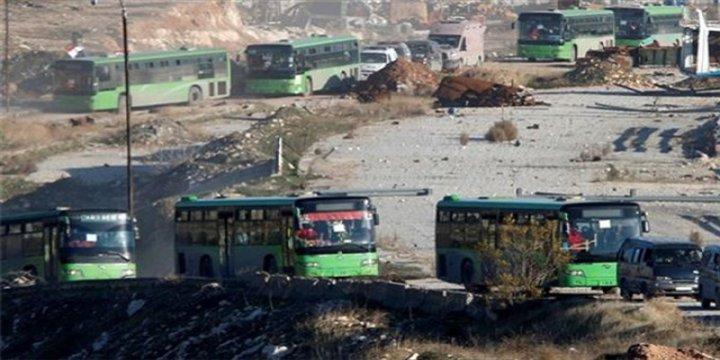Halep'ten Tahliyeler Yeniden Başladı: 5 Otobüs Halep'ten Çıktı!