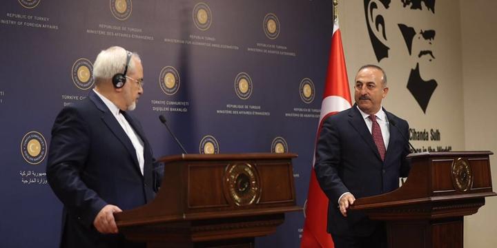 Çavuşoğlu, Zarif ile Telefonda Suriye ve Irak'ı Görüştü
