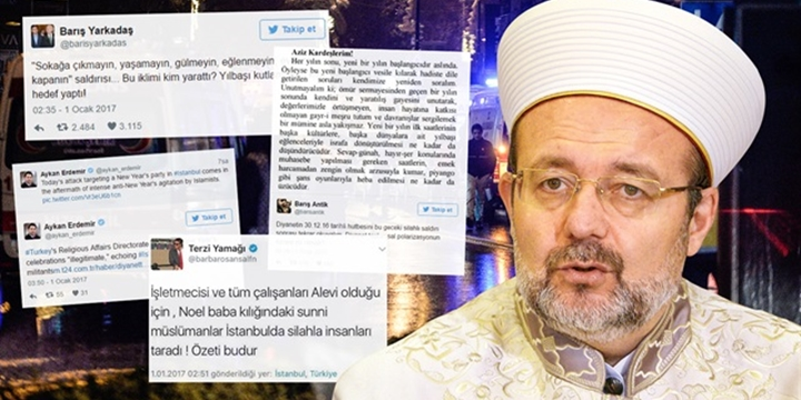 Ortaköy'deki Saldırının Faturasını Diyanet'e Kestiler!