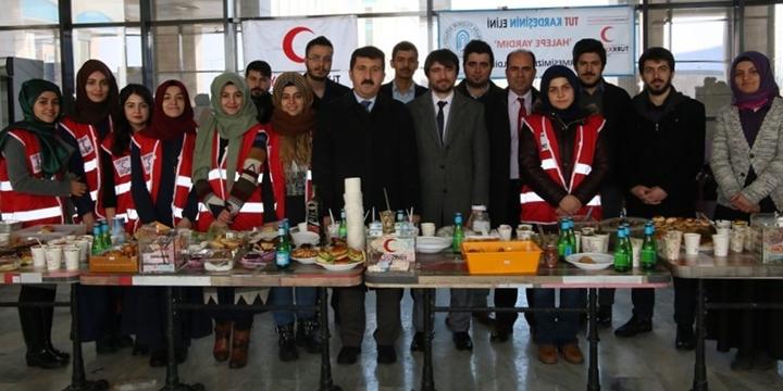 Yıldırım Beyazıt Üniversitesi'nde Halep İçin Yardım Kermesi