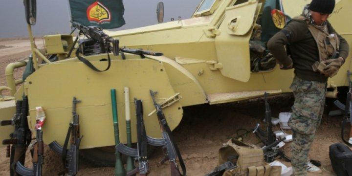 Haşdi Şâbi 16 Ülkeden 100'den Fazla Silah Türünü Kullanıyor