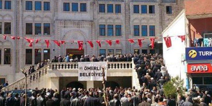 Mardin'in Ömerli Belediyesi'ne Kayyum Atandı