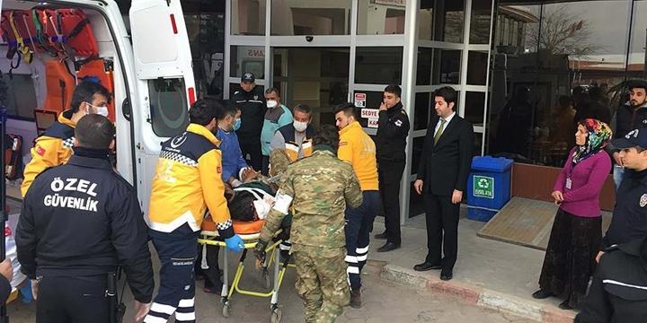 ÖSO Mensubu 15 Direnişçi Tedavi İçin Türkiye'ye Getirildi