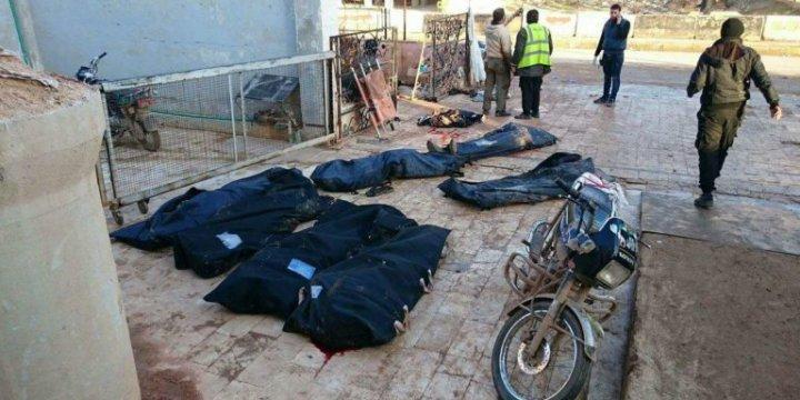 ABD Uçakları Bugün de Şam'ın Fethi Cephesi'ni Hedef Aldı: 12 Şehid