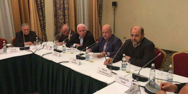 Filistin Ulusal Diyaloğu Konferansı Moskova'da Başladı