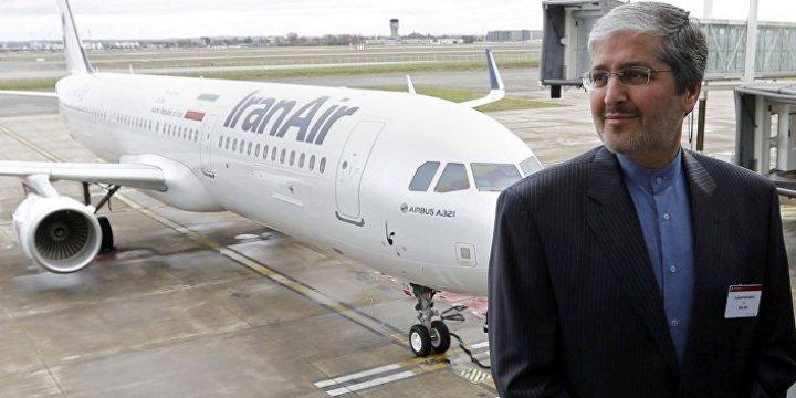 """İran Yeni Satın Aldığı Uçağı Airbus'u """"Hacı"""" Yapacak"""
